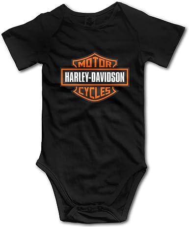 Body para bebé con logotipo de Harley Davidson, ropa de escalada divertida, 18 meses