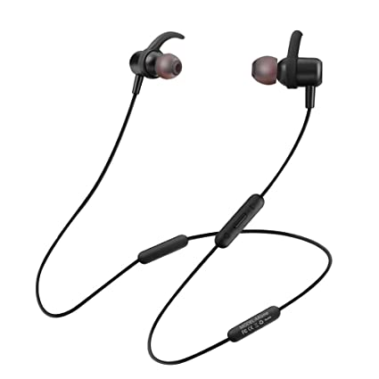 7af763cf972 Image Unavailable. Image not available for. Color: Junshion Bluetooth  Headphones Wireless Sports Earphones Neckband Headset with Mic ...