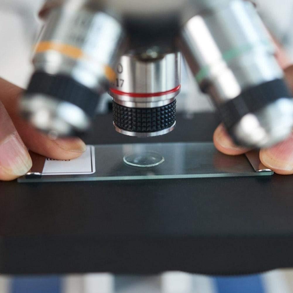 runaty Kindermikroskop Sch/üler Einsteiger-Mikroskop-Kit f/ür Anf/änger Inklusive Zubeh/ör-Set f/ür Anf/änger in der fr/ühen Ausbildung mit Projektor PTL-1200