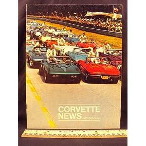 1969 69 October / November CORVETTE NEWS Magazine Chevrolet Motor Division