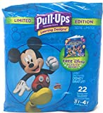 Pull-Ups Learning Designs Potty Training Pants for Boys, 3T-4T (32-40 lb.), 22 Count: more info