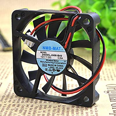 12V 0.25A 6 cm Ultra-Thin 2 line Chassis Cooling Fan 2404kl-04w-b40 6months Warranty