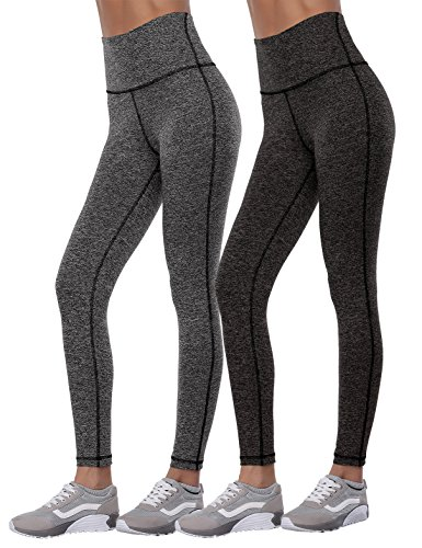Aenlley Women's Activewear Yoga Pants High Waisted Tummy Control Workout Gym Tights