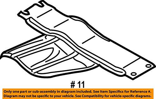 Mazda OEM 07-12 CX-7 Floor Rails-Bulkhead EH145639XA by Mazda (Image #1)