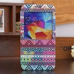 JOE Colorful Geometry Pattern Full Body Case for Samsung S5 I9600