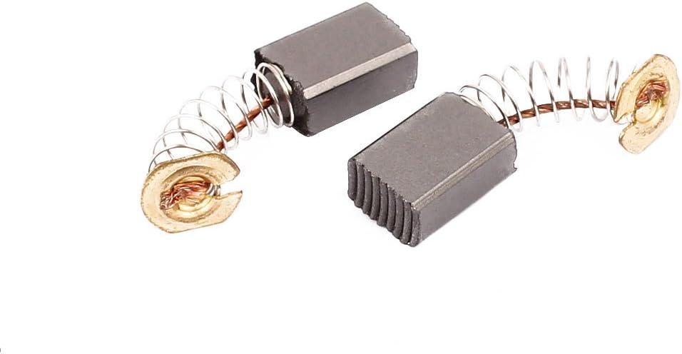 e47ad3b8876d777923a4528ec9f888ae Aexit Herramienta el/éctrica de par de escobillas de carb/ón de 13x9x6mm para motor de taladro de martillo el/éctrico