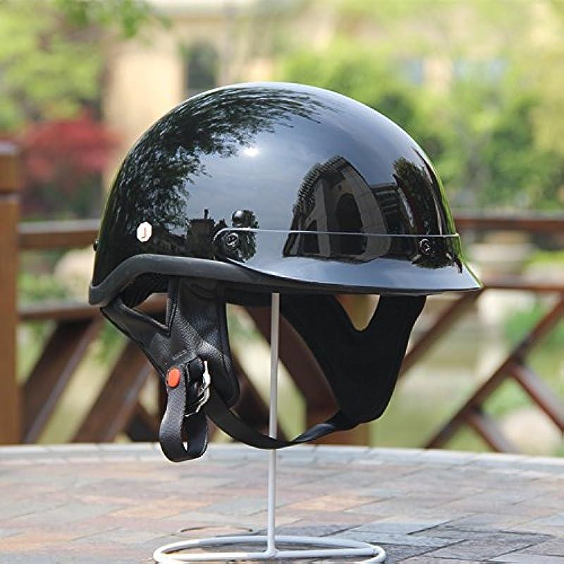 오토바이 헬멧 반모자 복고풍 할리 (2색상)