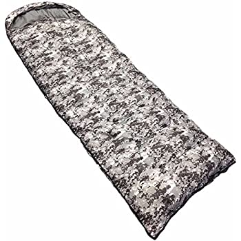 NTK Viper Lightweight Sleeping Bag for Adults - Pixel Camo | Hybrid Shaped Ultralight Camping Sleeping Bags for Hiking and Backpacking in Warm Weather ...
