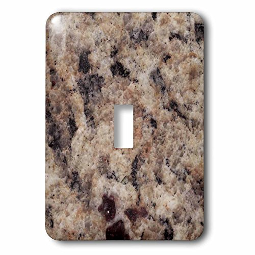 3dRose lsp_97961_1 Napoli Venetian Gold Granite Print Single Toggle Switch, Multicolored