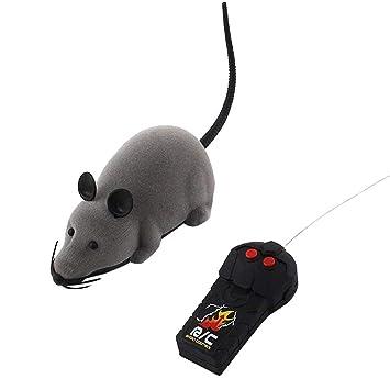 Elektrische Drahtlose Fernbedienung RC Ratte Maus Spielzeug Haustier Katzen Haustierbedarf