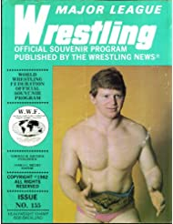 MAJOR LEAGUE WRESTLING #155 Bob Backlund official souvenir program 1982