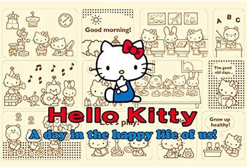 VAST Rompecabezas for la niña Regalo Juego de los Juguetes, clásico Animado Hello Kitty Dibujos Animados, Inteligencia Rompecabezas Fit 300 ~ 1000 Piezas 513 (Color : C , Size : 1000pc) : Amazon.es: Juguetes y juegos