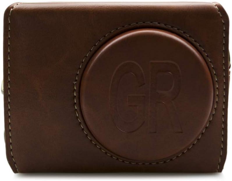 kinokoo /Étui en Cuir PU pour Ricoh GR III Vintage Case Ricoh GR 3 Housse de Protection