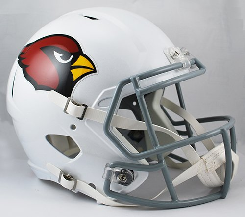 - Arizona Cardinals Riddell Full Size Speed Deluxe Replica Football Helmet - New in Riddell Box