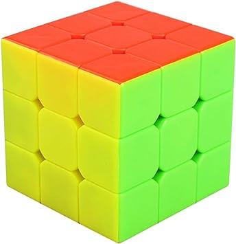 Speed Cube 3x3 Stickerless, LSMY Puzzle Mágico Cubo Toy: Amazon.es ...