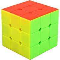 Speed Cube 3x3 Stickerless, LSMY Puzzle Mágico Cubo