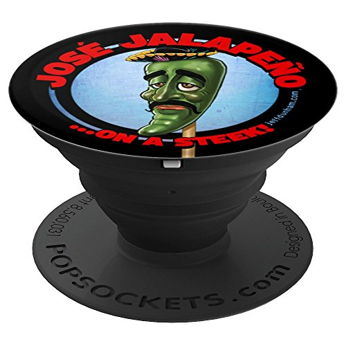 Jeff Dunham: Jose Jalapeno On A Steek PopSocket - PopSockets Grip and Stand for Phones and Tablets (Jeff Dunham And Jalapeno On A Stick)