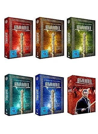 Highlander Komplette Serie Staffel 1 6 Amazonde Dvd