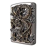 [Zippo] Flying Dragon SI Lighter / Genuine Authentic / Original Packing (6 Flints set Free Gift)