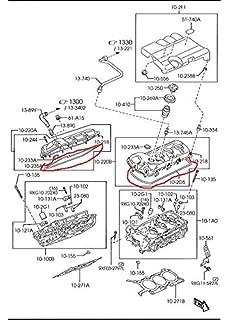 Mazda CX-9 & Mazda 6 V6 New OEM valve cover gasket set CY01-