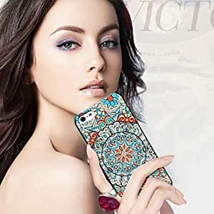 QHY Multi Color Pattern PC Hard Case for iPhone 4/4S (Assorted Colors) , Yellow
