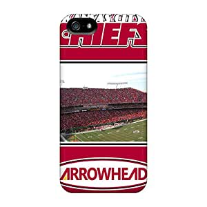 PhilHolmes Iphone 5/5s Protector Cell-phone Hard Cover Customized Colorful Kansas City Chiefs Skin [qPI6390CFPi]