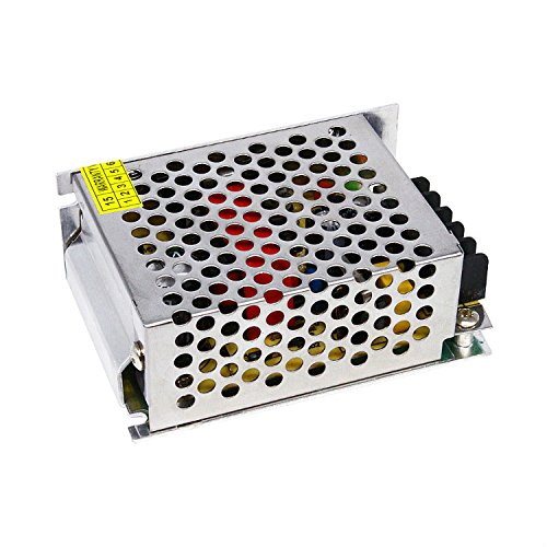 MOVINGTECH LED Power Supply DC Output 5V 4A 20W Aluminum Box Universal Regulated Switching Adaptor Transformer Driver AC Input 110/220V for 5V LED Strip Module CCTV by Movingtech (Image #2)