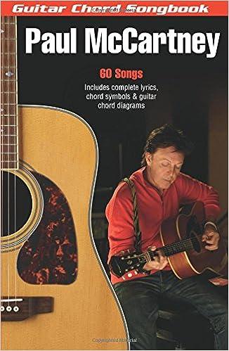 Amazon Paul Mccartney Guitar Chord Songbook 6 Inch X 9 Inch