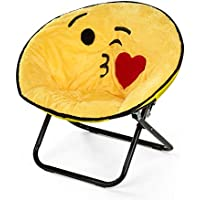 Emoji Pals NK656914 Kissy Kids Saucer Chair