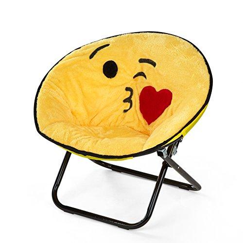 Emoji Pals NK656914 Kissy Kids Saucer Chair by Emoji Pals