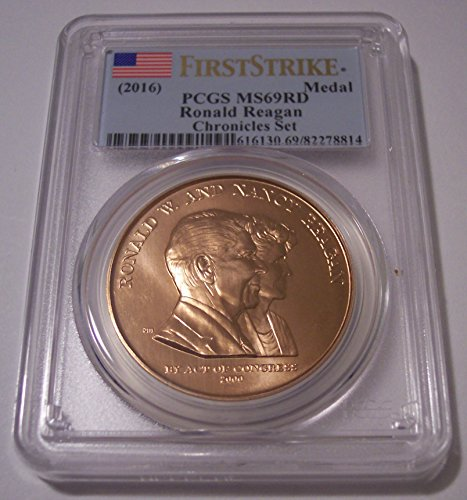 2016 Ronald Reagan - Bronze U.S. Mint Medal MS69 RD PCGS First Strike Bronze Medal Us Mint