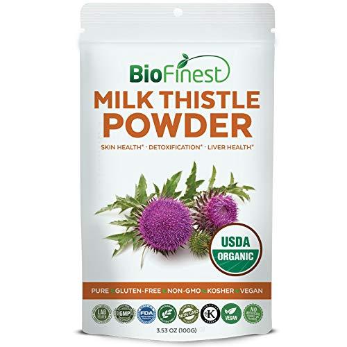 Biofinest Milk Thistle Extract Powder - USDA Certified Organ