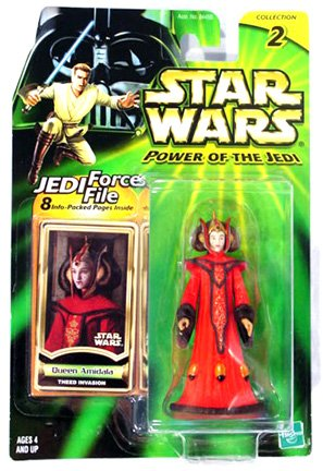 Star Wars: Power of the Jedi Queen Amidala (Theed Invasion) Action Figure -