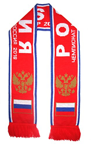 WORLD CUP 2018 FANS FAVORITE SOCCER SCARVES (RUSSIA)