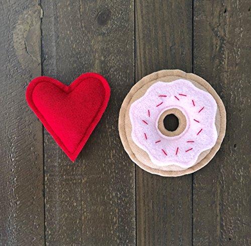 Donut Lover Organic Catnip Cat Toys by Furball Fanatic