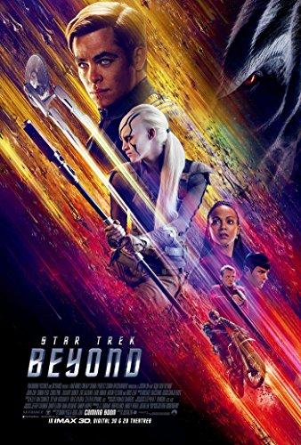 Star Trek Beyond Movie Poster 2 Sided Original Version B Chris Pine Idris Elba