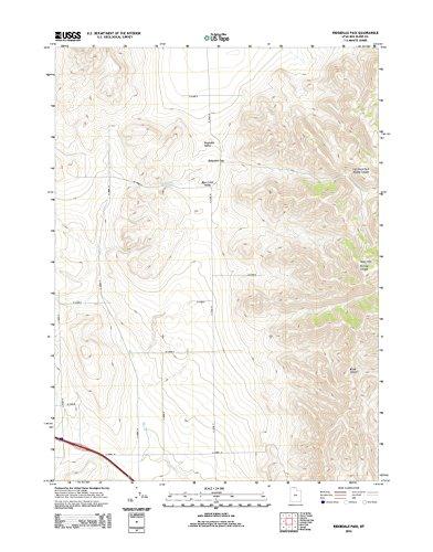 Topographic Map Poster - RIDGEDALE Pass, UT TNM GEOPDF 7.5X7.5 Grid 24000-SCALE TM 2011, 24