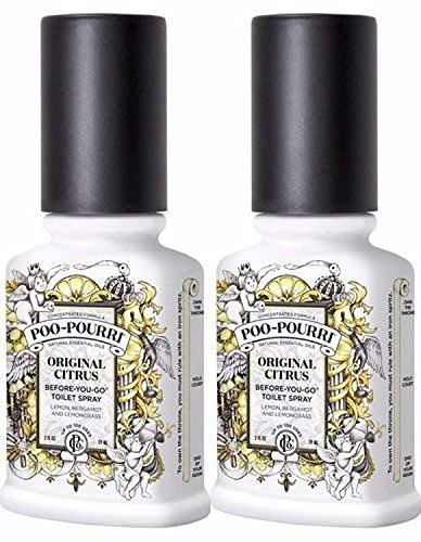 Poo-Pourri, Before-You-Go Bathroom Spray, Original - 4 oz, 2 Pack ()