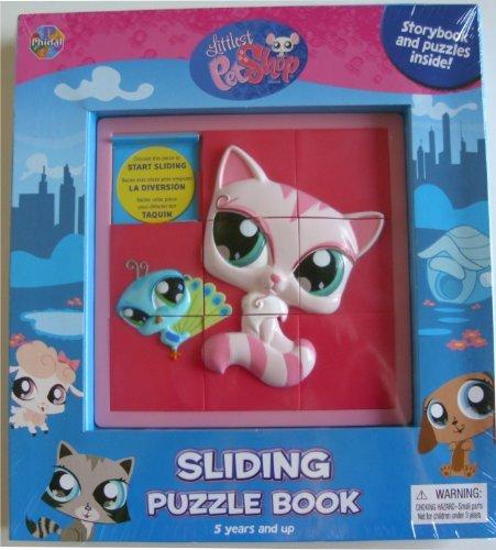 (Littlest Pet Shop Sliding Puzzle Book)
