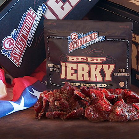 Sweetwood Peppered Beef Jerky - 10-Count Box