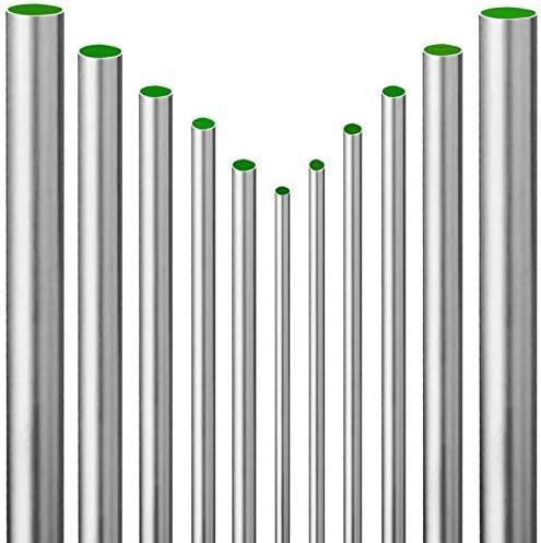 L/änge 1800mm 180cm auf Zuschnitt Edelstahl Rundrohr V2A /Ø 40x2mm K240