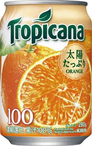Tropicana This 100% Orange 280gX24 by Tropicana
