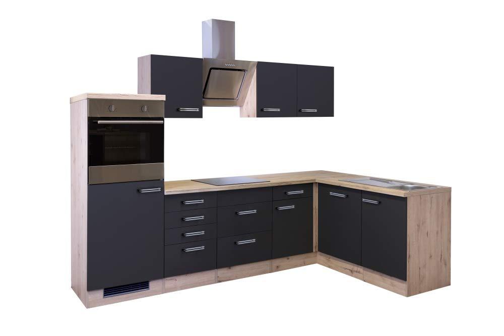 Smart Möbel Lino - Mueble de Cocina en ángulo con lavaplatos ...