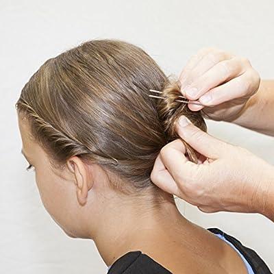 Marilyn Faye's U-Shaped Crinkled Hair Pins - 3in (Set of 12)