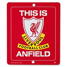 "Liverpool FC - ""This is Anfield\"" Official Metal Sign"