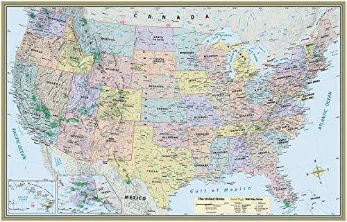 U.S. Map-Paper: Inc. BarCharts: Amazon.com: Amazon US