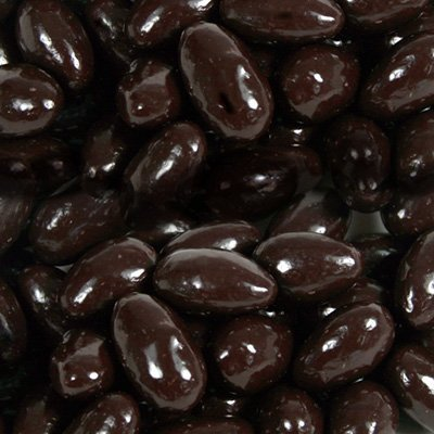 BAYSIDE CANDY Sugar Free Dark Chocolate Almonds, 2LBS