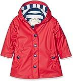 Hatley Little Girls' Splash Jackets, Red, 5