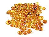 Honey Baltic Amber Beads, Polished Baroque 6-8 mm, 10 grams