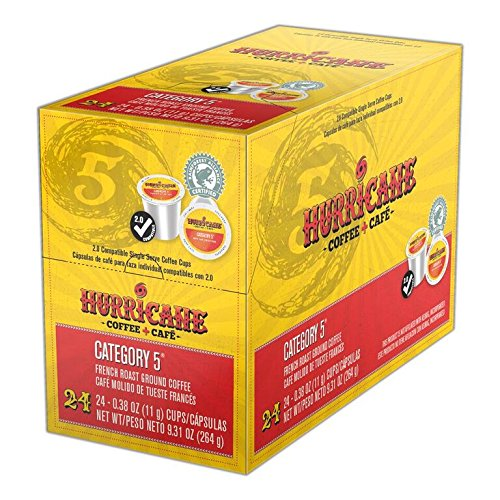 Hurricane Coffee, Category 5, 24 Count, 9.31 Oz ()